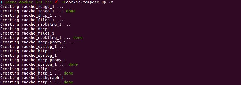 7 2  RackHD: Local Docker Based Environment Set-up — RackHD 2 0